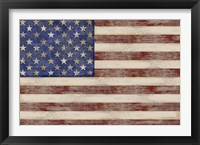 Framed U.S. Flag