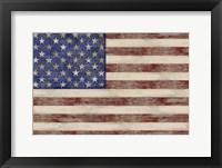 Framed U.S. Flag