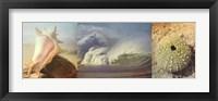 Framed Coastal Triptych II