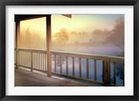 Framed Lodge Deck