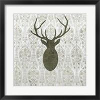Modern Lodge II Framed Print