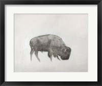 Framed Buffalo (left)