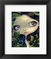 Framed Poisonous Beauties I Belladonna
