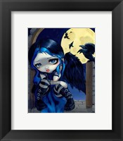 Framed Whispered Word Lenore