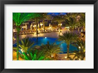Framed Jordan, Aqaba, Hotel swimming pool, resort