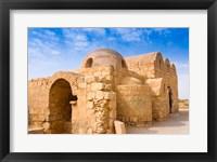 Framed Qusayr Amra or Quseir Amra, Hummayad Hunting Pavilion, Jordan