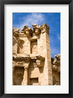 Framed Nymphaeum, Once the Roman city of Gerasa, Jerash, Jordan