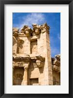 Framed Nymphaeum, Once the Roman city of Gerasa, Jerash, Jordan