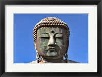 Framed Japan, Kanagawa, Great Buddha, the bronze Daibutsu