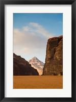 Framed Wadi Rum Desert, Jordan
