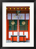Framed Kumano Hayatama Shrine, Shingu, Wakayama, Japan