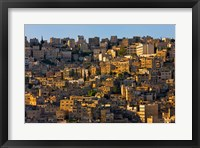 Framed Traditional houses in Amman, Jordan