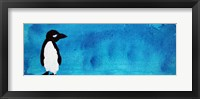 Framed Blue Penguin III