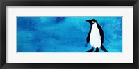 Blue Penguin IV Framed Print