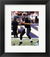 Framed Joe Flacco 2014 Action