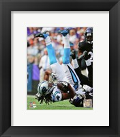 Framed Kelvin Benjamin 2014 in action