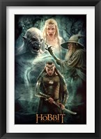 Framed Hobbit 3 - Collage