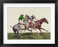 Framed Polo - two horses