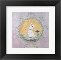 Framed Spring Bunny II