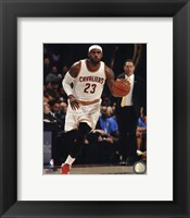 Framed LeBron James 2014-15 Cavaliers