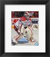 Framed Braden Holtby 2014-15 Action