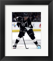 Framed Anze Kopitar 2014-15 Action