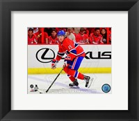 Framed P.A. Parenteau 2014-15 Action