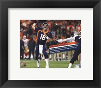 Framed Peyton Manning becomes the NFL's All-Time leader in career Touchdown Passes- October 19, 2014