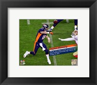 Framed Peyton Manning NFL's All-Time leader Touchdown Passes