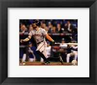 Framed Hunter Pence Home Run Game 1 of the 2014 World Series