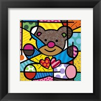 Framed Friendship Bear