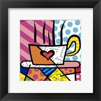 Framed Latte Love