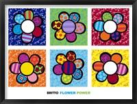 Framed Flower Power Multi