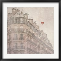 Framed Heart Paris