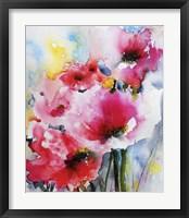 Framed Summer Poppies II