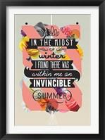 Framed Invincible Summer
