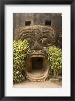 Framed Xieng Khuan, Buddha Park, Laos