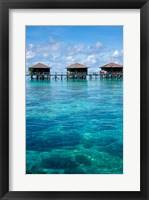 Framed Bungalows, Sipadan-Kapalai Dive Resort, Borneo, Malaysia