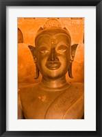 Framed Buddha Images at Wat Si Saket, Vientiane, Laos