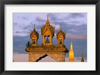 Framed Asia, Laos, Vientiane, That Luang Temple