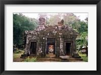 Framed Temple Sanctuary, Wat Phu Khmer Ruins, Champasak, Laos