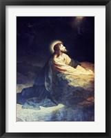 Framed Christ in the Garden of Gethsemane Heinrich Hoffmann (1824-1911 German)