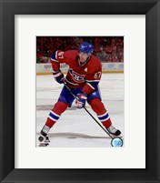 Framed Max Pacioretty 2014-15 Action