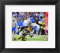 Framed Reggie Bush 2014 Action