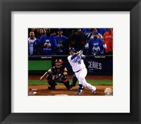 Framed Billy Butler Game 6 of the 2014 World Series Action