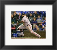 Framed Pablo Sandoval Double Game 7 of the 2014 World Series