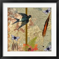 Framed Autumn Flora & Fauna