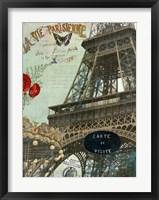 Framed La Vie Parisienne