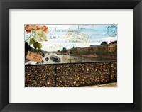 Framed Pont Des Arts