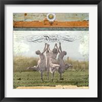 Framed Solstice Dream